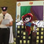 VBS captain shield and flame 6-27-2017